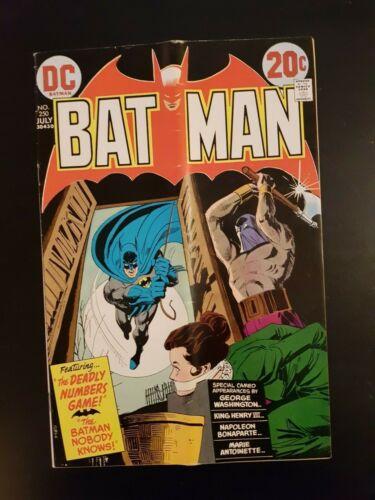 Batman #250, DC Comics, 1973!