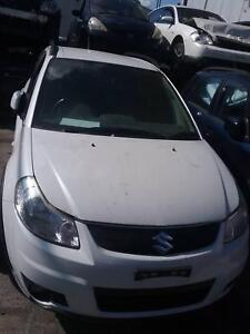 NOW WREAKING SUZUKI SX4 WHITE,BLUE COLOR ALL PARTS 2008 Dandenong South Greater Dandenong Preview