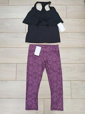 fabletics leggings & top set salar amara capri gym fitness yoga leggings M uk 12