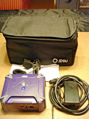JDSU WFED-300AC WiFi Advisor with Carrying Case and Accessories  ***NEW***