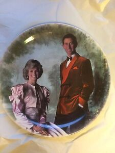 Rare Prince Charles and Lady Dianna Plate Cambridge Kitchener Area image 1