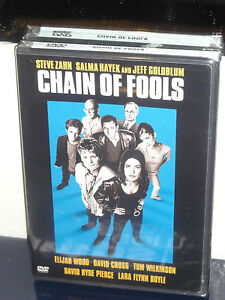 Chain-of-Fools-DVD-Jeff-Goldblum-Salma-Hayek-Steve-Zahn-Elijah-Wood-NEW