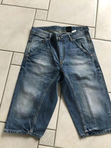 @@@ Kurze Jeans H&M Größe 158 Denim Tapered Shorts Blue @@@
