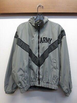 Asst Sizes USA EUC Genuine GI Gray /& Black Long Sleeve PT Army Military Shirt
