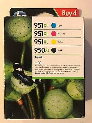 Genuine Original HP 950XL 951XL Multipack 4-Pack BK/M/C/Y Printer Ink CartridgeB segunda mano  Embacar hacia Spain