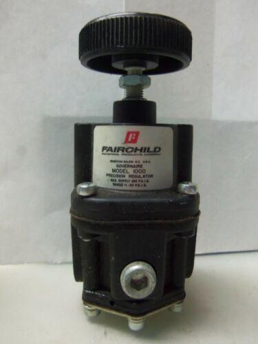 Nice Fairchild 1000 Pneumatic Air Pressure Regulator 3/8npt Ports