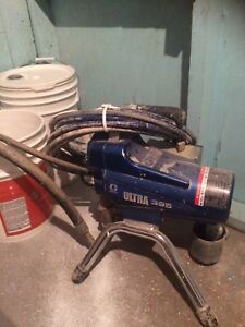 Graco 395 Paint Sprayer, with gun, 50 ft hose