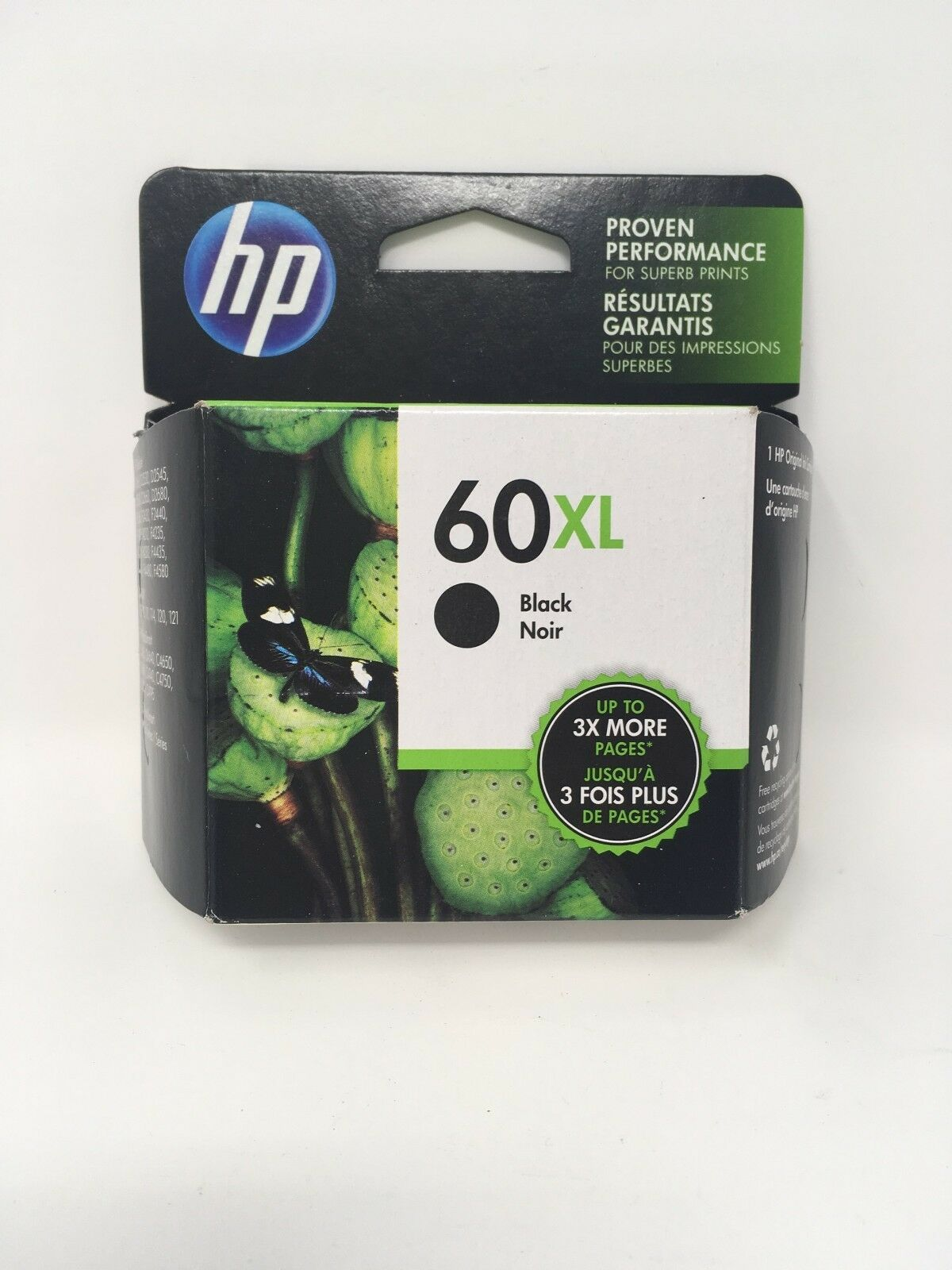 HP 60XL Black High Yield Original Ink Cartridge