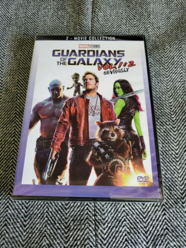 Guardians of the Galaxy Vol 1 and 2 DVD Box Set Brand New