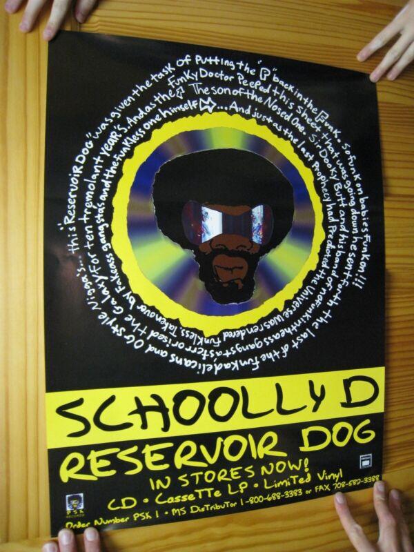 Schoolly D Poster Resevoir Dog Schooly D Jesse Bonds Weaver Jr.