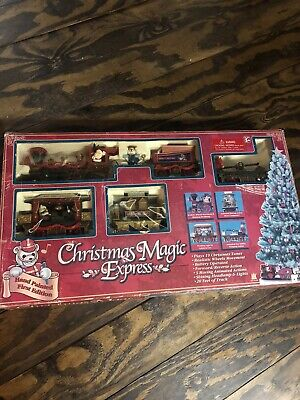 Christmas Magic Express Musical Animated Toy Train Set Kids Gifts Home Decor