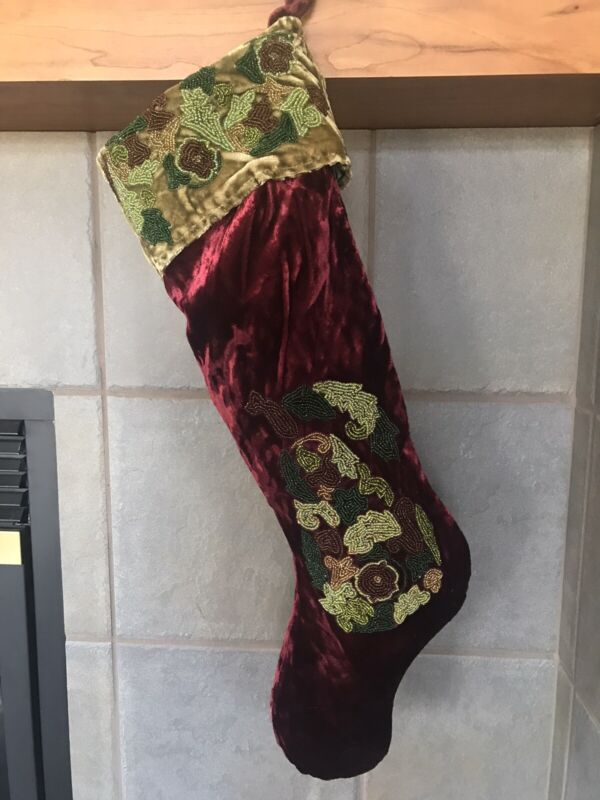 Mark Roberts Christmas Stocking