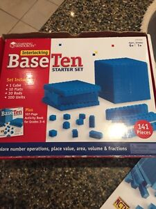 BASE TEN STARTER SET BY LEARNING RESOURCES