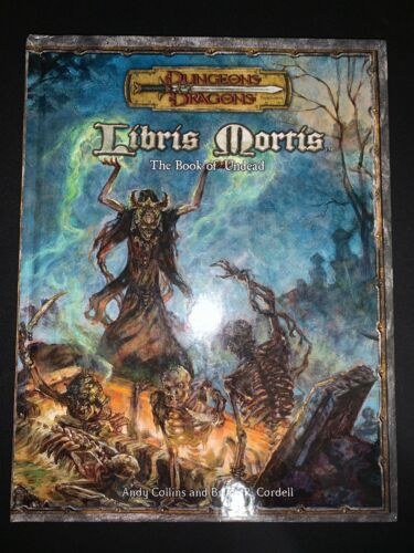 Libris Mortis The Book of Undead D20 3.5 Dungeons and Dragons D&D