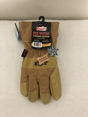 New Kinco Cold Weather Pigskin Leather Gloves Xlarge Style 1958