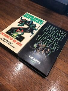 Teenage Mutant Ninja Turtles movies VHS
