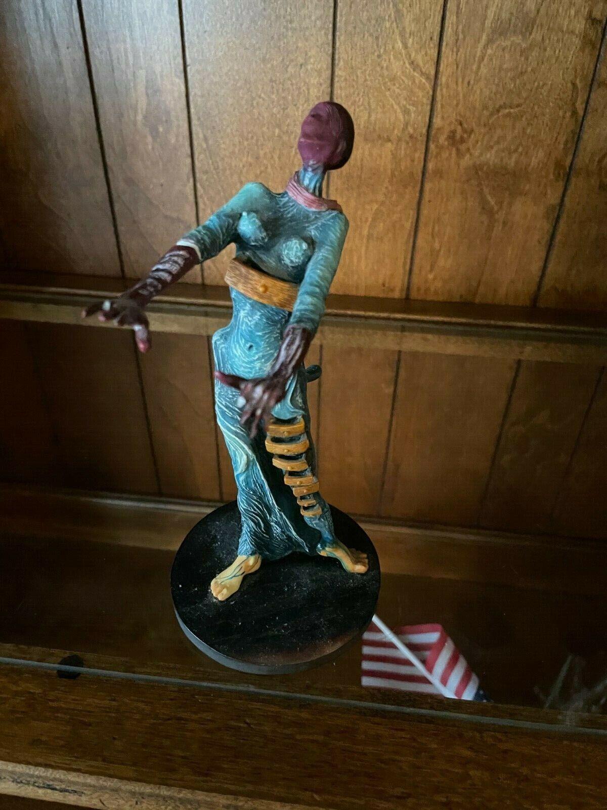 Burning Giraffe Woman With Drawers Sculpture Statue Artist Salvador Dali Art - $45.00