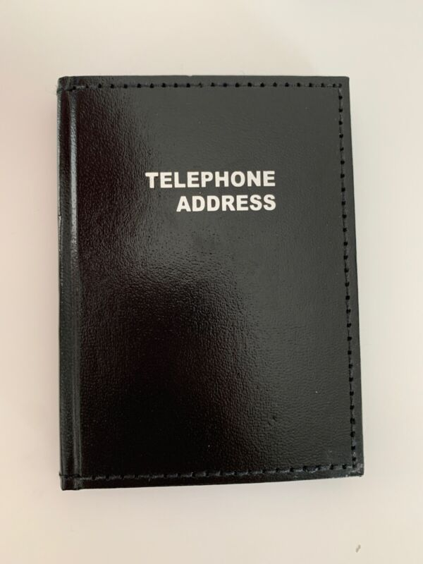 Office Depot Brand ~ Vinyl Small Pocket Telephone/Address Book ~ 3inX4in