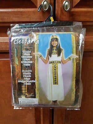Halloween Costume Cleopatra Girl Dress Size L(10-12)