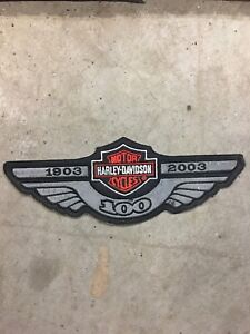 Harley 100 anniversary patch. NEW