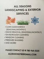 SNOW REMOVAL STARTING @$85/MONTH