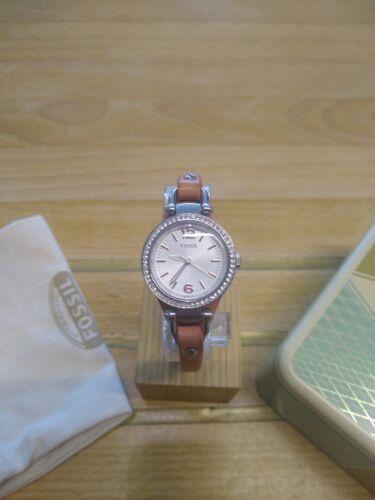 Fossil Damenuhr Uhr ES3060, Damen, elegant, Glamour, mit Box und neuer Batterie