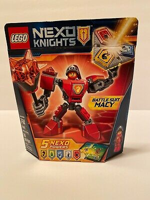 NEW LEGO 2017 NEXO Knights Series Set #70363 BATTLE SUIT MACY (66pcs.)