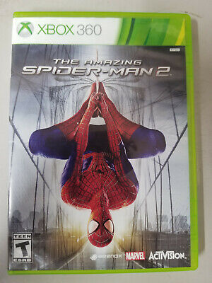 The Amazing Spider-Man 2 (Microsoft Xbox 360, 2014) No Manual