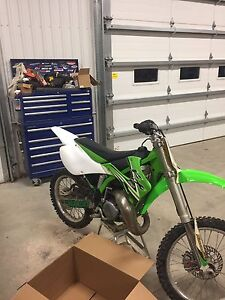 2002 kx125 in good condition