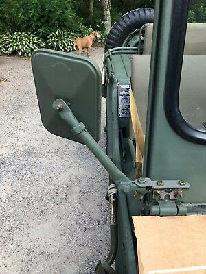 MILITARY M151 M151A1 M151A2 PASSENGER SIDE MIRROR ADAPTER *NEW* MUTT JEEP for sale  East Falmouth