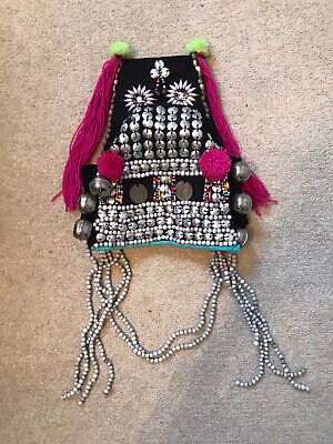 Genuine Asian Traditional Headdress Laos Hat Crown Costume Ornament Decoration