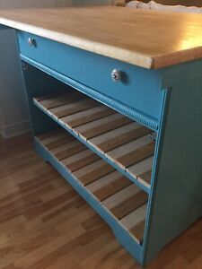 DIY blue bar- -