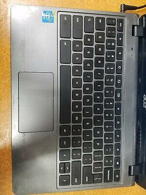 Acer Chromebook C740 - Dual 1.5Ghz, 4GB DDR3L, 16GB SSD, Grade C Condition.