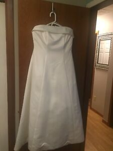 Ladies size 16 wedding dress