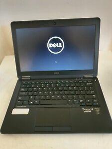 """Dell latitude E7250 i5-5300U 8gb 128gb SSD 12.5"""" laptop"""