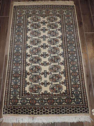 3x6ft. Handmade Bokharra Wool Rug