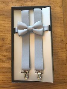 Brand New Boy's Suspender and Bow Tie Sets