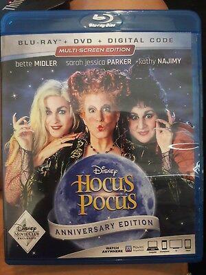 Hocus Pocus -Anniversary Edition BLU-RAY+ DVD + Digital Code (3 ways to watch!!) - Horror Movies Watch Halloween