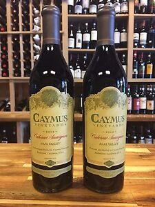 Caymus Cabernet Sauvignon 2014 **2 BOTTLES**