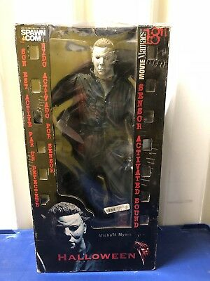 "McFarlane Movie Maniacs 18"" Motion Activated Figure Michael Myers Halloween MM88"
