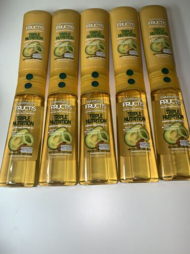 LOT  GARNIER FRUCTIS TRIPLE NUTRITION SHAMPOO CONDITIONER AV