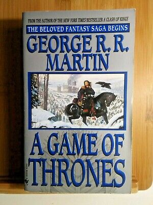 A Game of Thrones George R. R. Martin Bantam Edition Early Printing Rare 1997