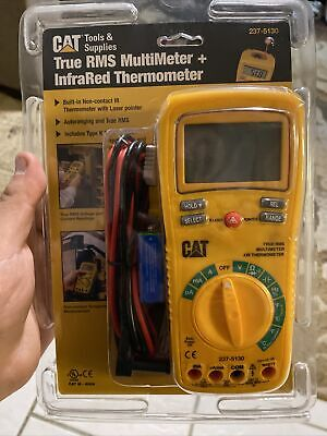 Cat Tools True Rms Multimeter Infrared Thermometer 237-5130