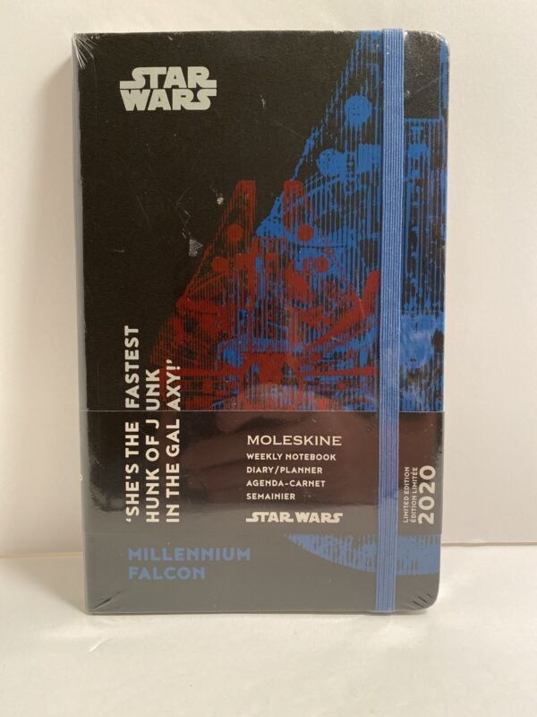 Moleskine, 2020 Moleskine Star Wars Falcon Weekly Diary / Planner - Hard Cover