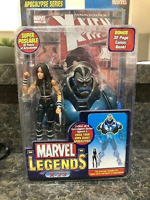 X-23 Apocalypse Series 2005 ToyBiz Marvel Legends Figure MIP B