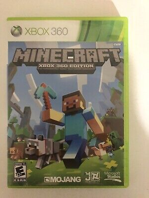 Minecraft Xbox 360 Edition Microsoft Video Games TESTED Fast Free Shipping