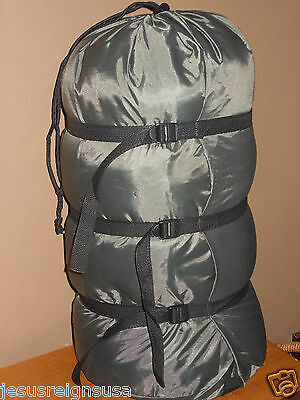 COMPRESSION STUFF SACK Bag Sleeping Camping Lightweight Outdoor Hiking TRAVEL