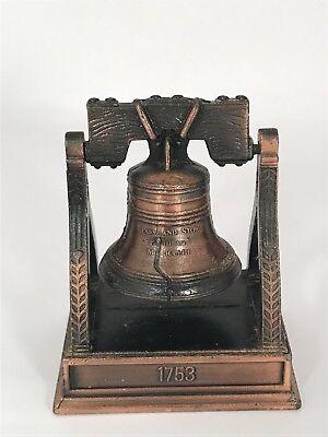 """Liberty Bell Pencil SharpenerBronze Die Cast Body ~2 1/4"""" Length x 3"""" Height"""
