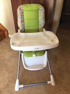 evenflo fold up space saver high chair - Space Saving High Chair