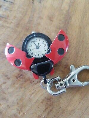 Miniature clock Ladybug